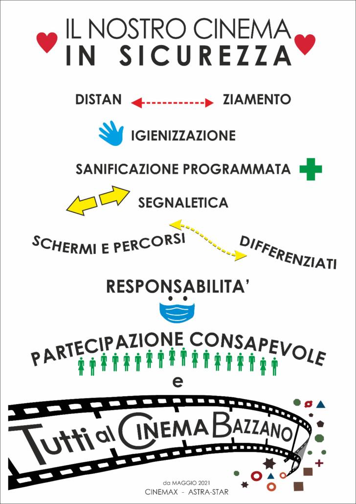 Cinema in sicurezza Valsamoggia