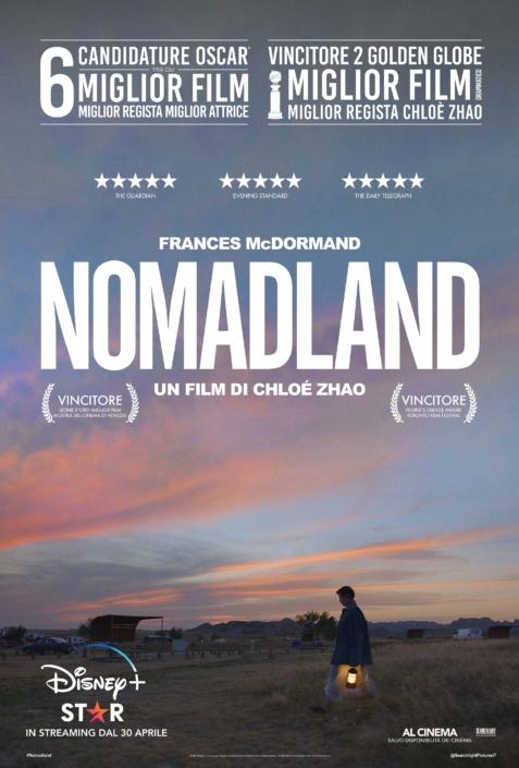 Nomadland cinema Bazzano